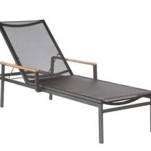 Product image: Barlow Tyre Aura Chaise Lounge Graphite/Charcoal