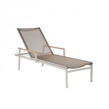 Product image: Barlow Tyre Aura Chaise Lounge Champagne/Titanium