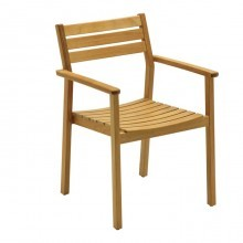 Product image: Gloster Rye Dining Chair with Arms