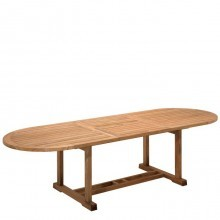 Product image: Large Bristol Oval Extending Table